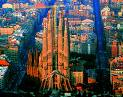 City view, Barcelona.